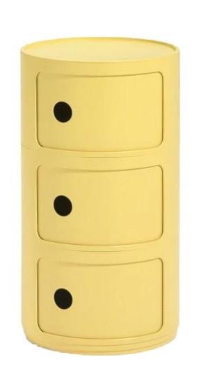 Container Componibli Bio von Kartell Farbe gelb