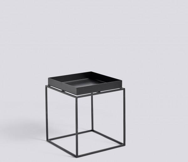 Beistelltisch Tray Table Small Square schwarz von HAY