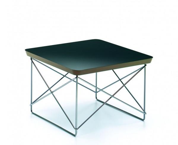 Vitra Beistelltisch Occasional Table-schwarz verchromt