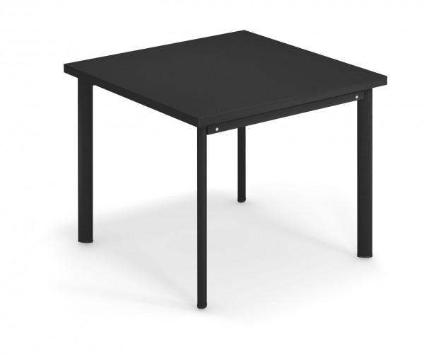 Bistrotisch Star 90 cm x 90 cm Farbe schwarz von emu