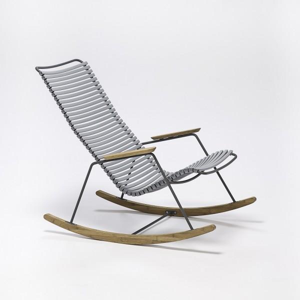 Schaukelstuhl Click Rocking Chair Sitzschale gray Houe