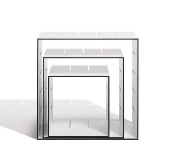 Regal Konnex, 3er Set von Müller Möbelwerkstätten, bestehend aus einer kleinen Box, einer mittleren Box und einer großen Einzelbox