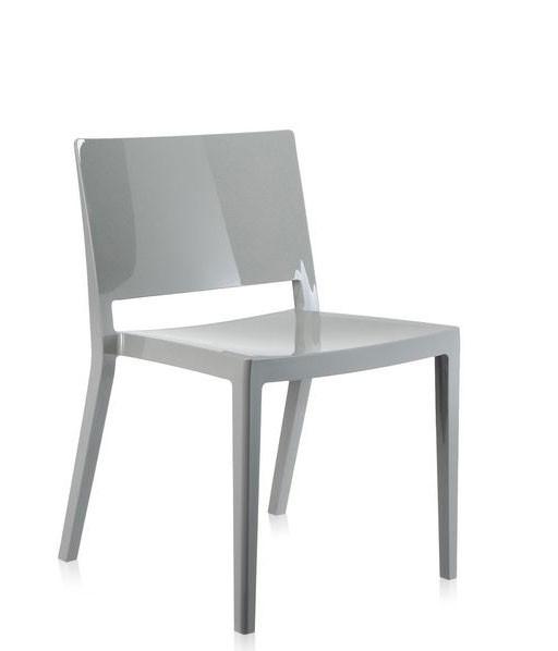 Stuhl Lizz grau glänzend von Kartell