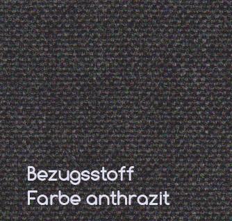 Muster Bezugsstoff Sunbrella von Conmoto Farbe anthrazit