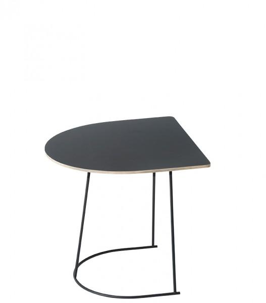Beistelltisch Airy Coffee Table Half Siz in schwarz von Muuto