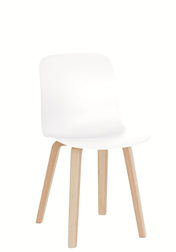 Stuhl Substance Sitzschale weiss von Magis