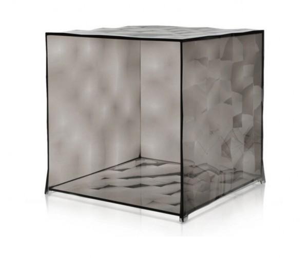 Kubus Optic ohne Tür transparent fume Kartell