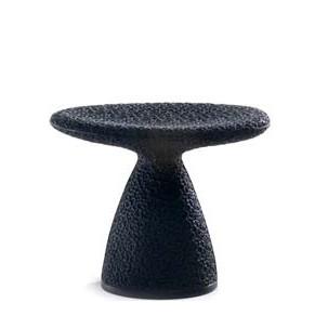 Hocker Shitake von Moroso in der Farbe Carbon black