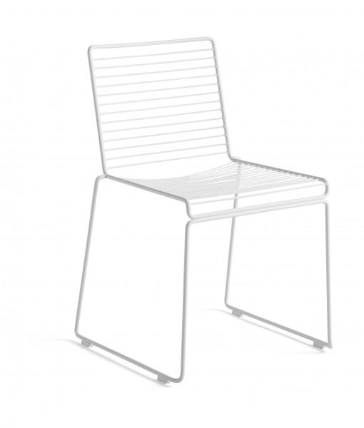 Stuhl HEE Dining Chair in weiß HAY