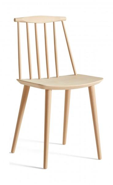 Stuhl J77 Chair Ausführung Buche natur gebeizt von Hay
