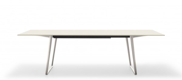 Axy Extension Tisch Platte Fenix weiß MDF Italia
