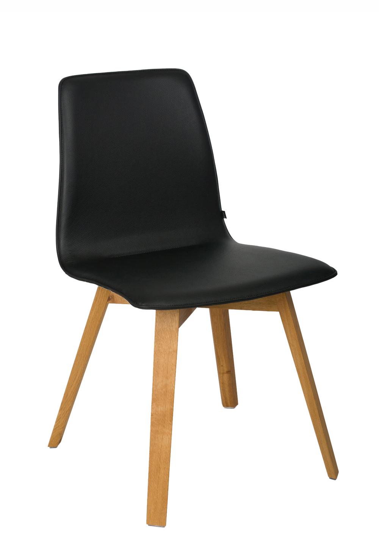 maverick mit holzbeinen kff stuhl. Black Bedroom Furniture Sets. Home Design Ideas