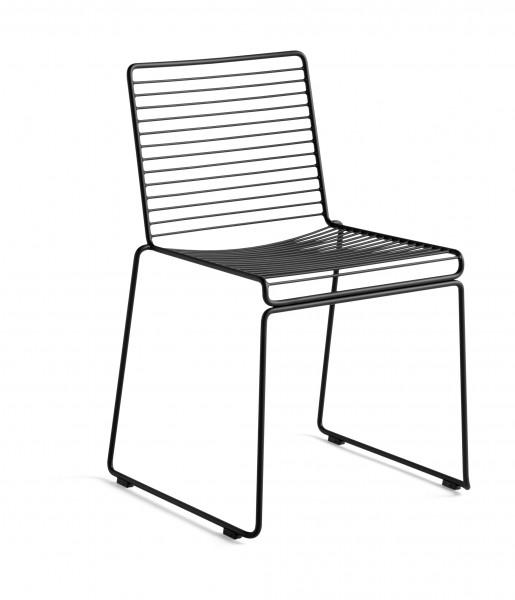 Stuhl HEE Dining Chair Farbe schwarz von HAY