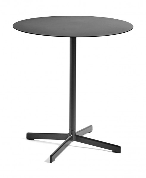 Bistrotisch NEU Table Round Anthrazit pulverbeschichtet von Hay