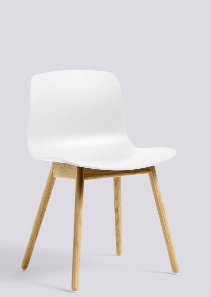 About a Chair AAC 12 von HAY, Schale white, Gestell Eiche lackiert (Standard)
