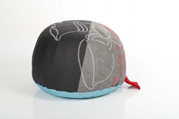 Fußhocker Bovist von Vitra, Motiv Pottery