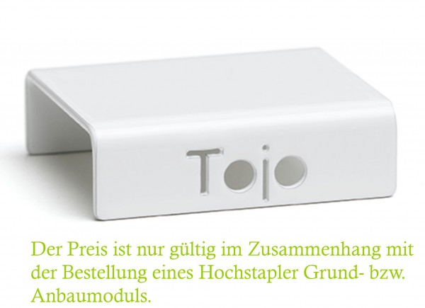 Clip Hochstapler Tojo Farbe weiß
