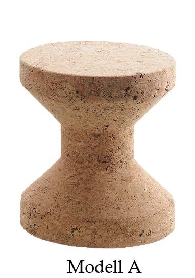 Beistelltisch Hocker Cork Family Modell A von Vitra