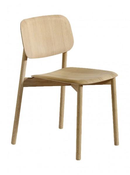 Stuhl Soft Edge 12 Oberfläche Eiche matt lackiert (aufgehellt) Hay
