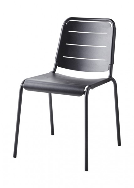 Copenhagen City Stuhl von Cane-Line Farbe lava grey