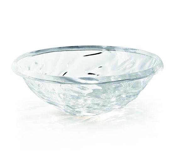 Schale Moon in transparent glasklar (B4) von Kartell