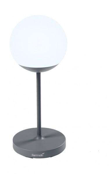Akku-Leuchte Mooon Höhe 63 cm Farbe gewittergrau Fermob