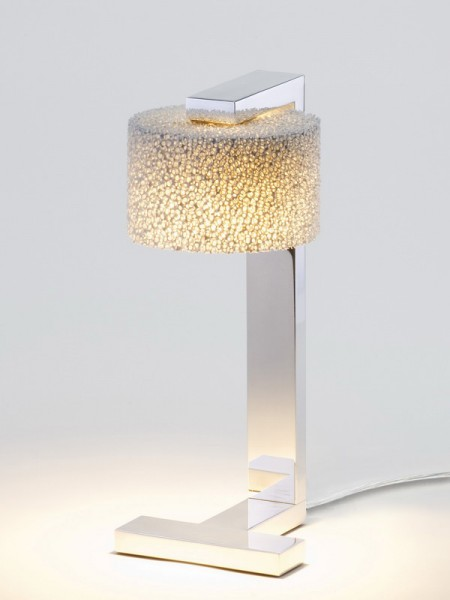 Tischleuchte Reef Table Led von Serien Lighting Aluminium gebürstet