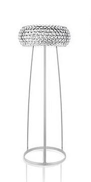Stehleuchte Caboche grande mit transparenten Kugeln von Foscarini