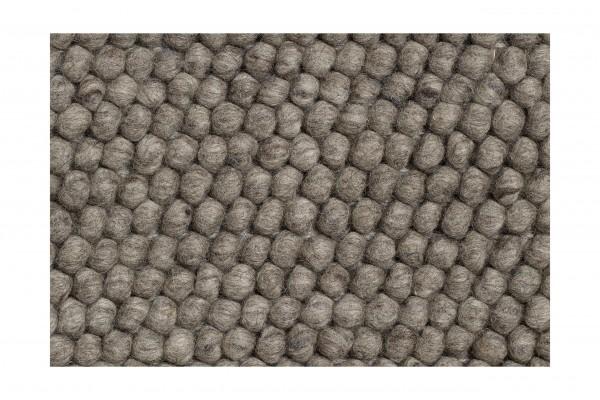 Muster Teppich Peas von Hay Farbe dark grey