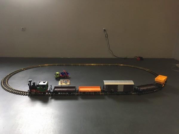 Modelleisenbahn von LPG